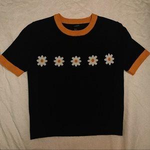 Daisy printed T shirt